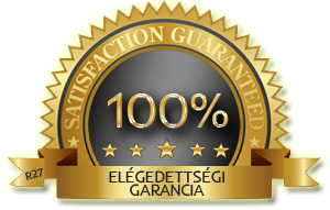 100% garanciát merek vállalnii