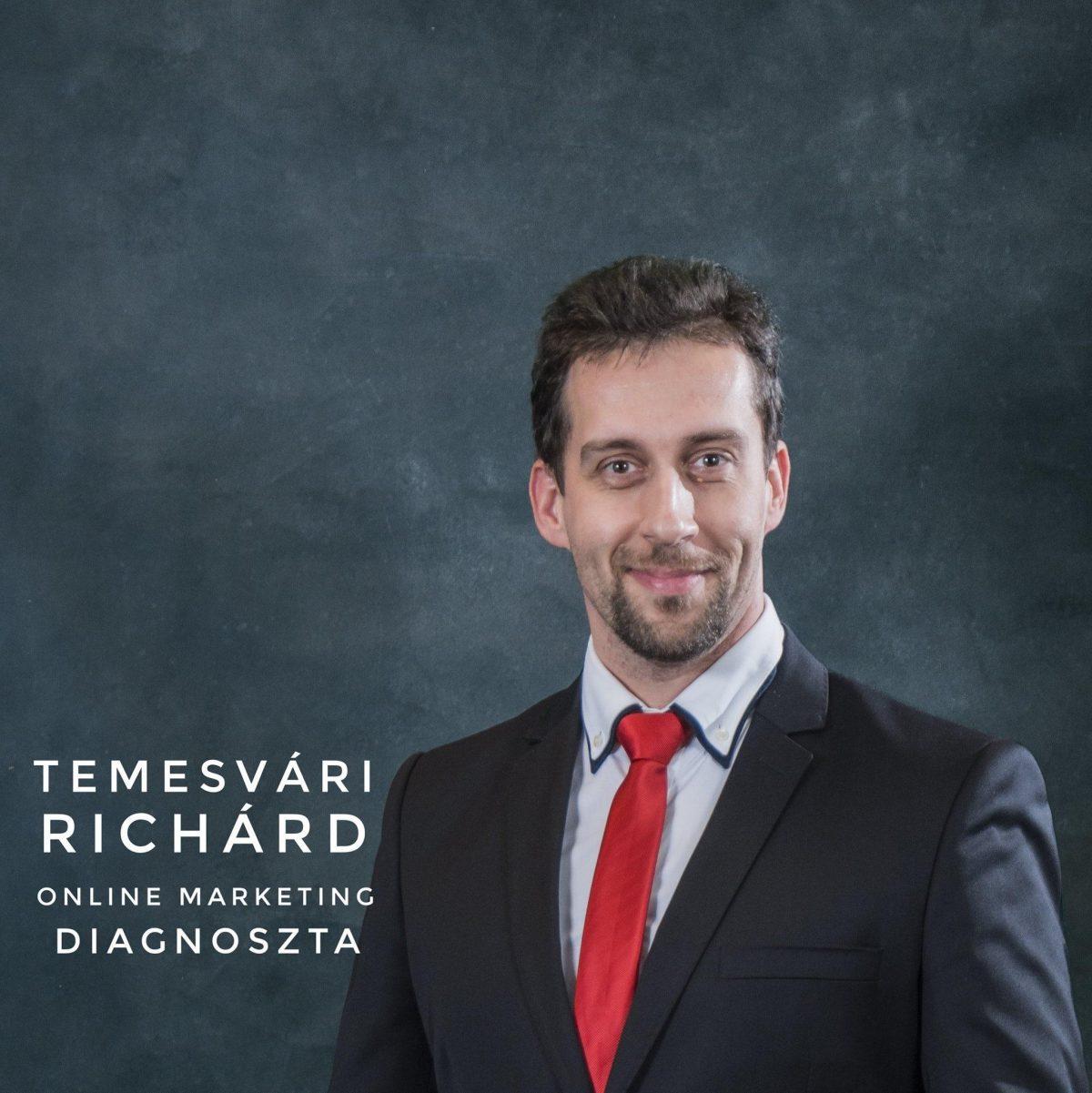 Temesvári Richárd vagyok, a profitáló weboldalak szakértője, online marketing diagnoszta, tanácsadó.